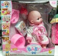 АКЦИЯ! Кукла пупс интерактивная little baby