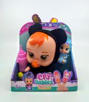 Куколка пупс Плачущий младенец CryBaby с фигуркой