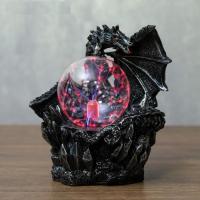 Лампа Дракон плазменный шар