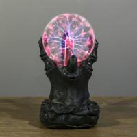 Лампа плазменный шар Призрачная рука