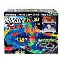 Трек светящийся Magic Track 360 дет. + 2 машинки