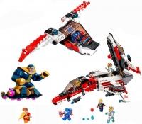 Конструктор Лего Lego Decool 7120 Реактивный самолет Мстителей