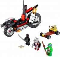 Конструктор Лего Мотоцикл-дракон Шреддера Черепашки-ниндзя 10207, 198 дет