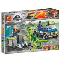 Конструктор Lego Лего Парк Юрского Периода Bela 10919 Грузовик спасателей для перевозки раптора