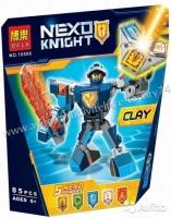 Конструктор Лего Lego (Bela) Nexo Soldiers Боевые доспехи Клэя 10586, 85 дет