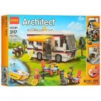 АКЦИЯ! Конструктор Lego Лего Decool 3117 Architect Кемпинг 3 в 1, 792 дет