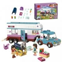 Конструктор ЛЕГО Lego Friends BELA 10561 Ветеринарная машина для лошадок, 387 дет.