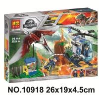 Конструктор Lego Лего Парк Юрского Периода Bela 10918 Побег птеранодона