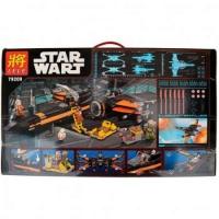Конструктор ЛЕГО LEGO Star wars LELE 79209 Истребитель По