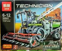 АКЦИЯ! Конструктор Лего Lego Technic Lepin 20041 Уборочный комбайн, 1107 дет.