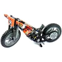 Конструктор Lego LELE 38041 Кроссовый мотоцикл, 253 дет