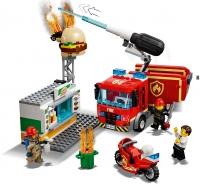 Конструктор Лего Lego LELE 28048 Пожар в бургер-кафе, 349 дет