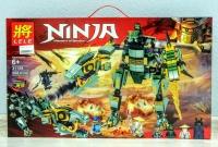 Конструктор Лего Lego Lele 31158 Ниндзяго Механический дракон зеленого ниндзя