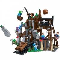 Конструктор Лего Lego minecraft LELE 33099 Работы на руднике, 672 дет