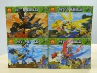 Конструктор Лего LEGO LELE 33159 Герои на драконах, 112 дет.