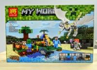 Конструктор Лего LEGO LELE 33243  Белый дракон, 318 дет.