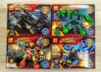 Конструктор Лего Lego LELE 34058 Супер герои Мстители