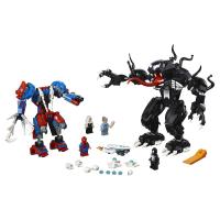 Конструктор Лего Lego LELE 34070 spider man Человек-паук против venom, 678 дет