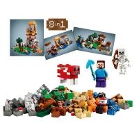 Конструктор Lego minecraft (Лего Майнкрафт) 10177  8 в 1 517 дет.