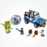 Конструктор Лего Lego LELE 79093 Парк юрского периода Засада на Дилофозавра, 259 дет