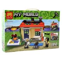 Конструктор Лего (Lele) Майнкрафт 33076 Дом 3 в 1 366 дет.