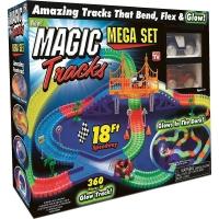 Трек светящийся Magic Track 360 дет. мост + 2 машинки