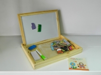 Доска для рисования+ набор магнитных игрушек 93-47-2
