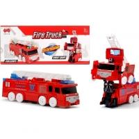 Машина пожарная трансформер (свет, звук)