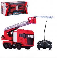 Машина радиоуправляемая Пожарная со звуковыми и световыми эффектами