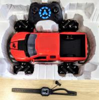 Машинка дрифт джип краулер на радиоуправлении со звуком раб двигателя и управлением жестами