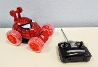 Машинка перевертыш Человек паук на радиоуправлении
