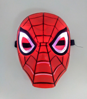 Маска Человека Паука свет