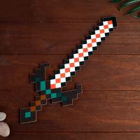 Меч деревянный майнкрафт вампира Пиксель 37 см