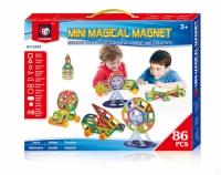 Магнитный конструктор Magical Magnet mini 86 дет