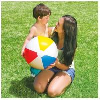 Мяч надувной пляжный Цветной INTEX