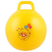 Мяч прыгун с ручкой Девчонки и Мальчишки d 45 см