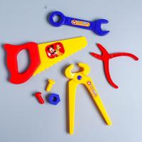 Набор детских инструментов Микки Маус, 7 предметов