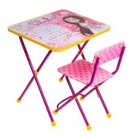 Набор детской мебели Познайка. Маленькая принцесса складной