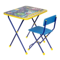Набор детской мебели Познайка. Математика в космосе складной