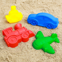 Игрушки для песочницы набор для игры в песке № 68, 4 формочки