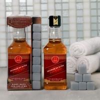 Подарок мужчине Набор Характер и сила гель для душа, мыло камни для виски