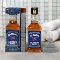 Подарок мужчине набор Настоящий защитник и герой гель для душа, мыло камни для виски
