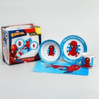 Набор посуды Человек паук, 4 предмета