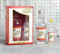 Подарок мужчине Набор гель для душа водка 250 мл, фигурное мыло