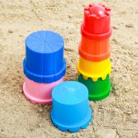 Игрушки для песочницы пирамидка
