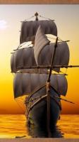 Настенный пленочный обогреватель-картина Корабль