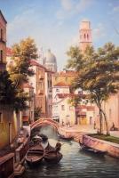Настенный инфракрасный пленочный обогреватель-картина Венеция