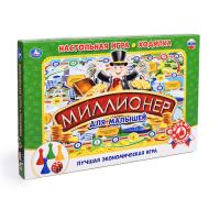 Настольная детская игра Миллионер для малышей