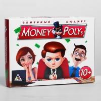 Настольная экономическая игра Монополия MONEY POLYS. Семейный бюджет
