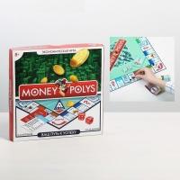 Настольная экономическая игра Монополия MONEY POLYS